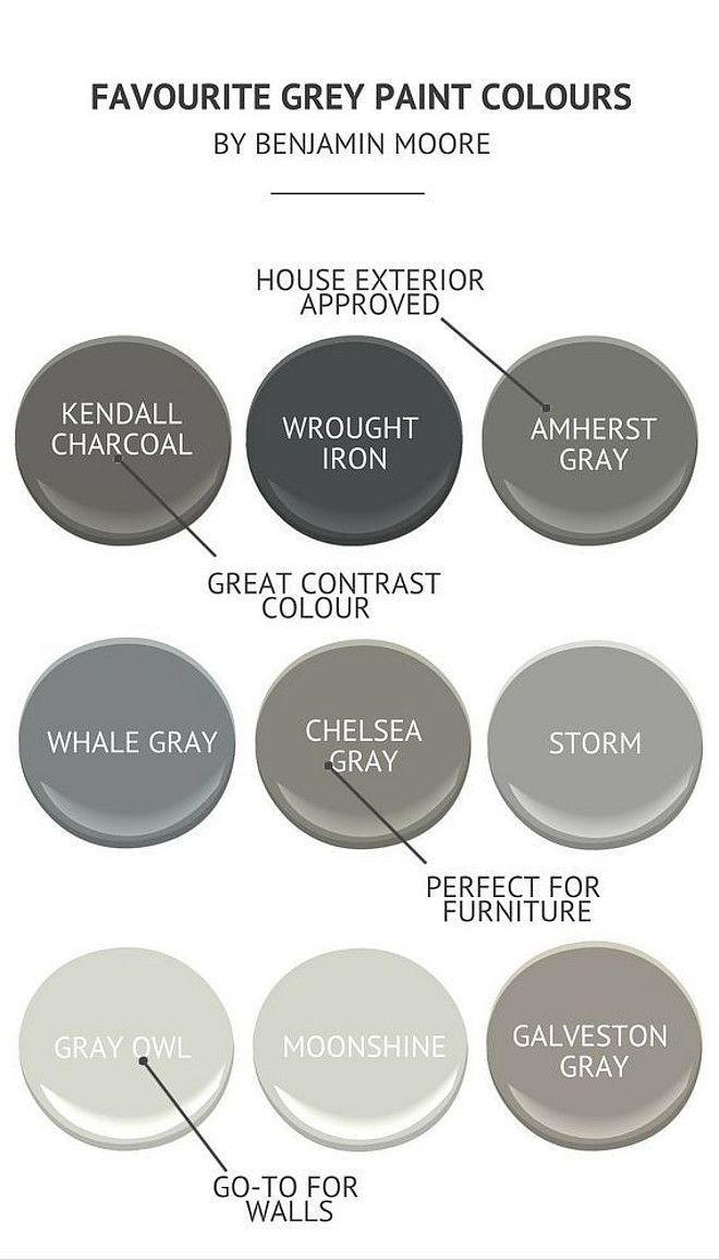 The Best Benjamin Moore Paint Colors