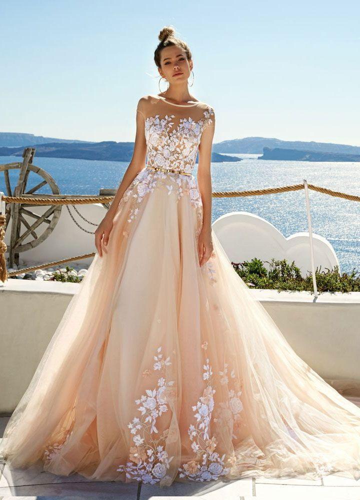 Eva Lendel Wedding Dresses Santorini Campaign Modern Trendy Vogue
