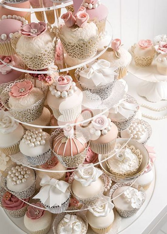 easy wedding cake cupcakes kuchen reception cupcakes 2762853 weddbook 13836