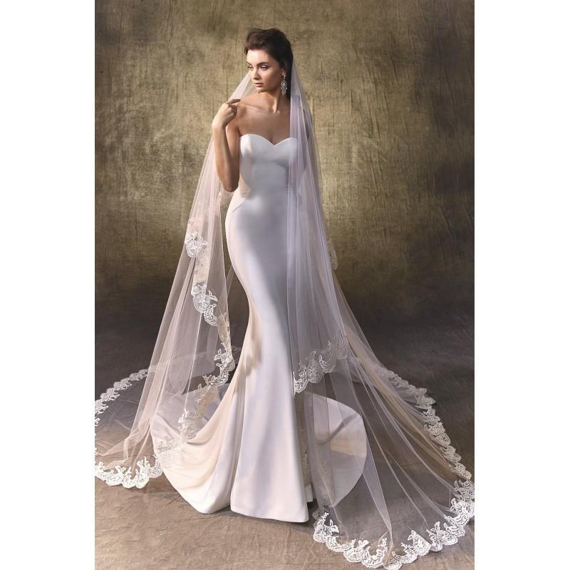 Logan By Enzoani Georgette Floor Sweetheart Strapless Body Skimming Wedding Dresses Bridesmaid Dress Online