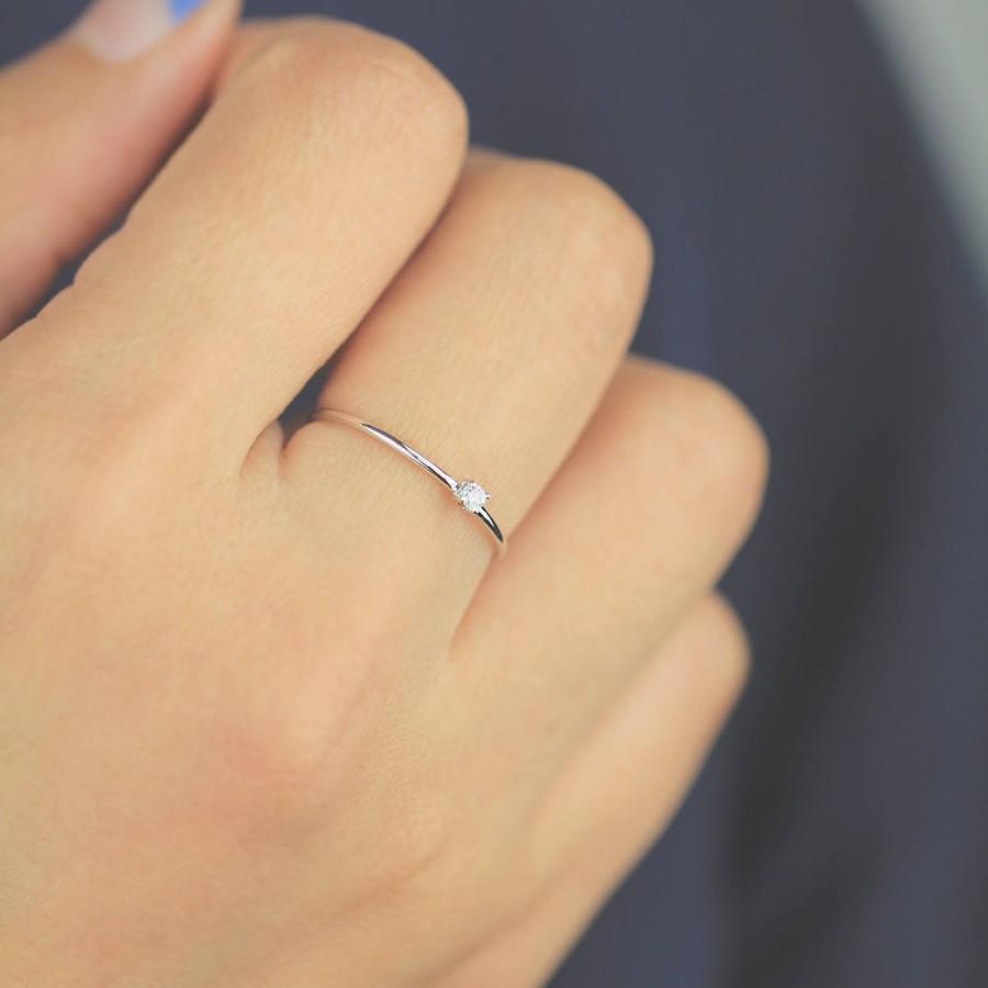 Diamond Wedding Band Ring Engagement Solitaire