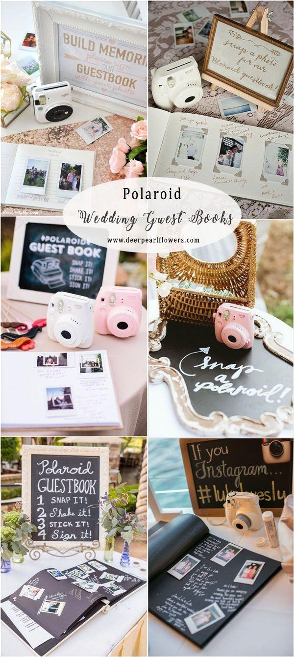 Top 16 Creative Fun Wedding Guest Book Ideas
