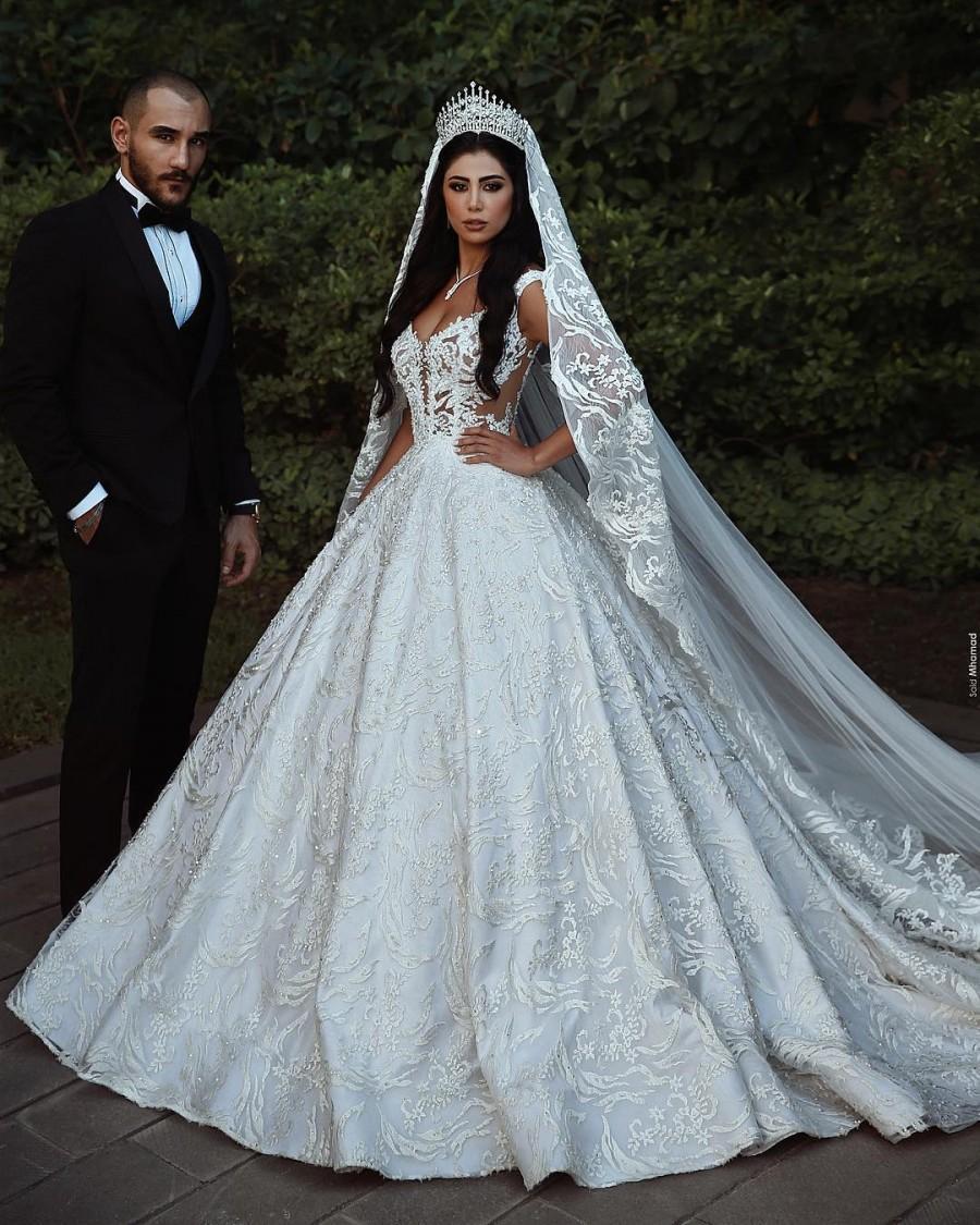 Modern Weiße Hochzeitskleider A Linie Spitze Brautkleider Online