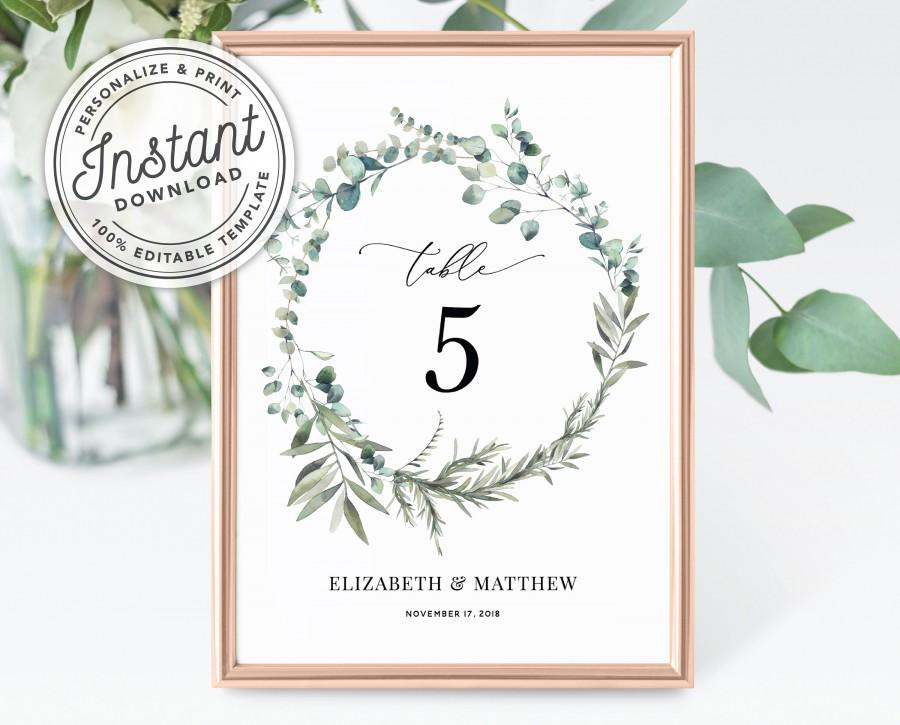 It is a graphic of Printable Wedding Table Numbers throughout elegant