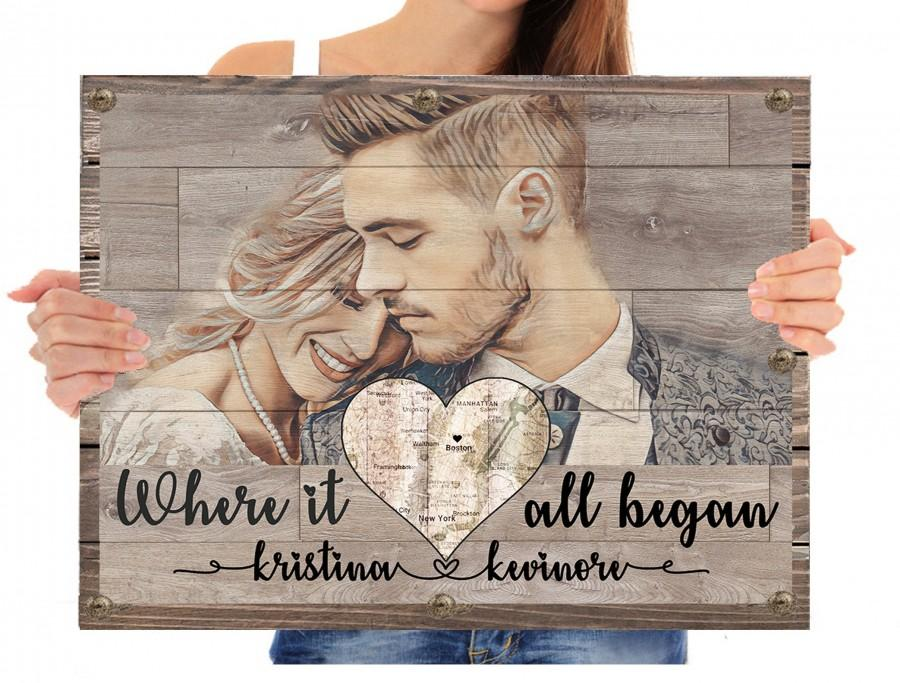 Personalized Anniversary Gifts For Boyfriend Gift Wood Frame Personalized Gift For Boyfriend Birthday Gift Anniversary Gift For Husband Gift 2922875 Weddbook